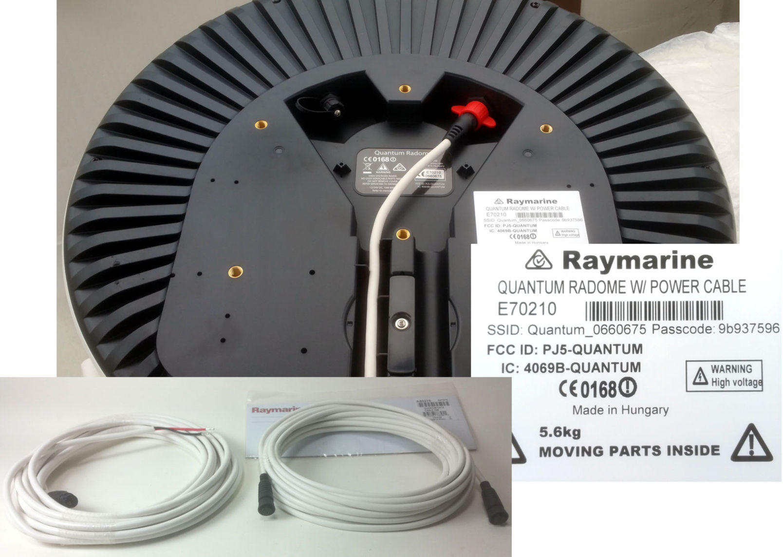 Raymarine_Quantum_radar_cabling_and_WiFi