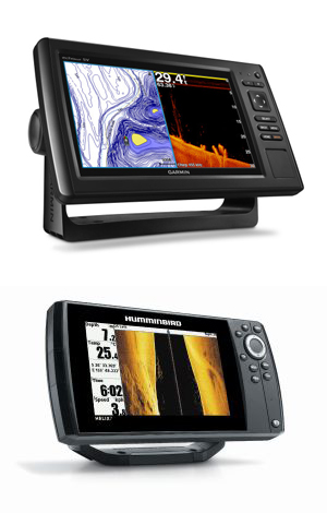 Garmin and Humminbird